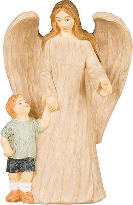 Angel With Boy
