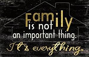 Family Is Everything Message Plaque
