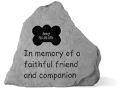 Kay Berry Memorial Stone - Dog