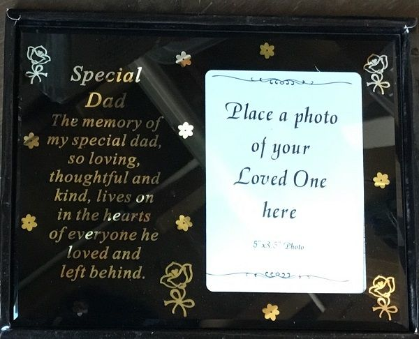 Special Dad Photo Frame